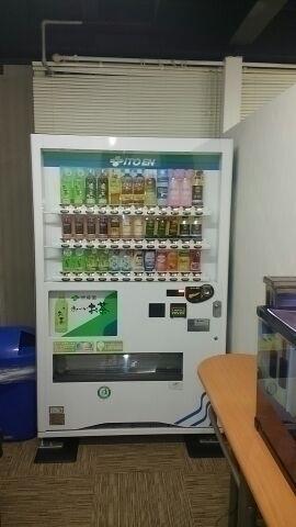 自販機コーナー、ジュースなどを飲みながらゆったりとお過ごし下さいね♪